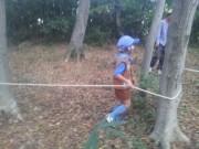 ロープ遊び2