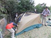 14テントの設営DSCF9519s