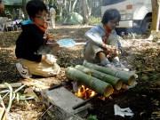 ③竹でご飯を炊く_DSCF0151