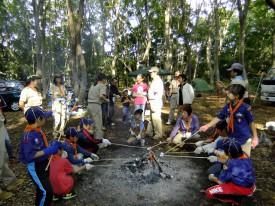 ⑦焚き火でマシュマロを焼く_DSCF0188
