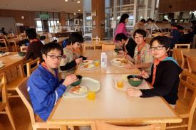 ⑩昼食DSCF0551