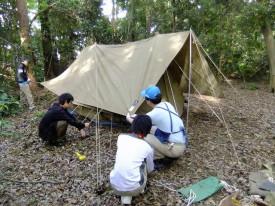 02A型テントの設営DSCF1095