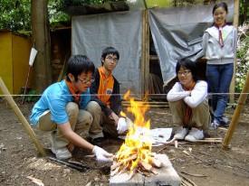 20技能大会④火おこしDSCF1259