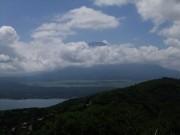 30石割山山頂③雲多し_富士山は恥ずかしがり屋のようですDSCF1476