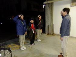 �松戸市民会館を出発DSCF1703