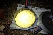2-24_フライパンで少量の湯でパスタをゆでる_DSCF3055