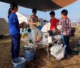 4-01_朝食の準備_DSCF3262