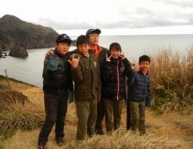 27日(ショートハイキング子浦付近を望む)� (1)