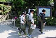 02_北鎌倉駅でハイクを開始DSCF3347