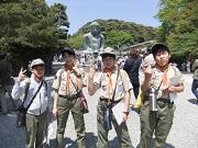 23_高徳院②大仏と記念撮影DSCF3456
