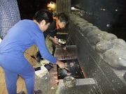 21夕食は焼き肉02DSCF3711