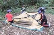 02_2個目のテントはスカウトだけで立ててみようDSCF3829