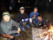 体験キャンプ夜 (1)