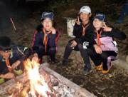 体験キャンプ夜 (2)
